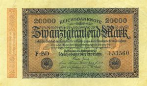 Weimar republic money