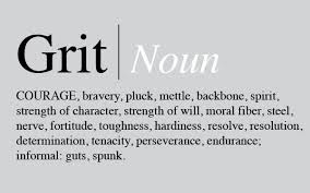 Grit noun